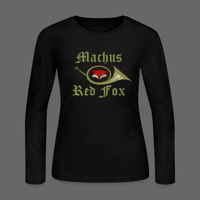 Machus Red Fox - Women's Long Sleeve Jersey T-Shirt