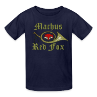 Kids' Shirts ~ Kids' T-Shirt ~ Machus Red Fox