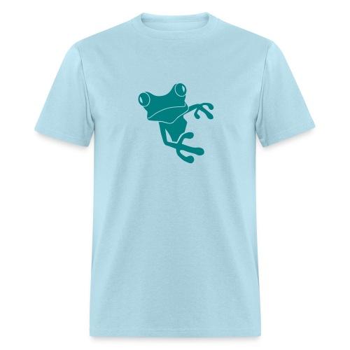 t-shirt frog princess prince kiss me toad squib paddock pout frogmouth mouth lips - Men's T-Shirt