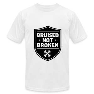 Defender of the Breed Men's Tee (White) - Men's T-Shirt by American Apparel