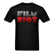 T-Shirts ~ Men's T-Shirt ~ Black Men's Tee Film Riot