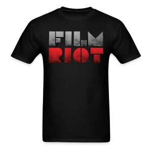 Black Men's Tee Film Riot - Men's T-Shirt