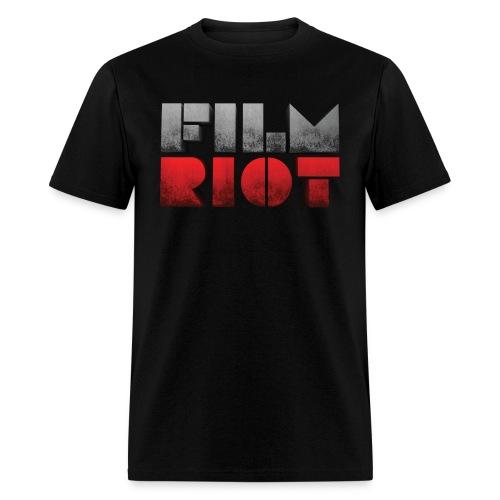 Black Men's Tee Film Riot - Men's T-Shirt
