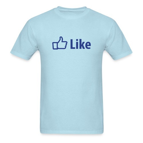 Facebook Like - Men's T-Shirt