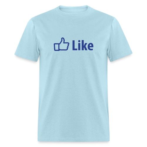 Facebook Like - Men's T-Shirt