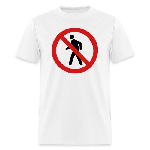 Do Not Cross - Men's T-Shirt