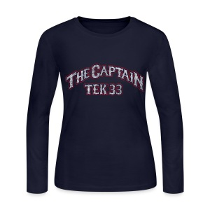 Tek 33 - Women's Long Sleeve Jersey T-Shirt