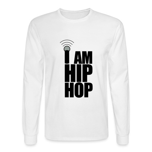 I Am Hip Hop - Men's Long Sleeve T-Shirt