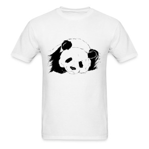 Slumbering Panda - S - 2XL - Men's T-Shirt