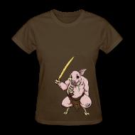 T-Shirts ~ Women's T-Shirt ~ Zombie Pigman - S - 2XL
