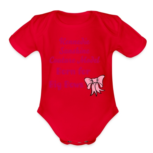 Kennedie's Shirt - Organic Short Sleeve Baby Bodysuit