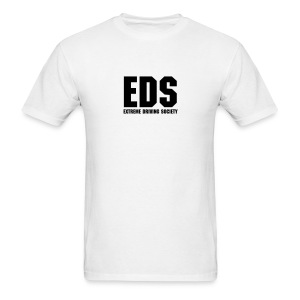EDS Plain Logo (White) - Men's T-Shirt