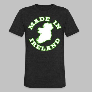 Made In Ireland - Unisex Tri-Blend T-Shirt by American Apparel