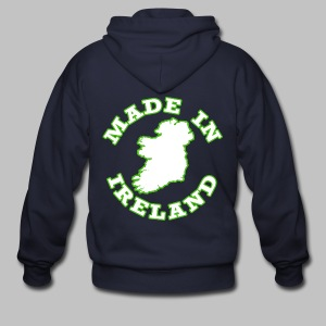 Made In Ireland - Men's Zip Hoodie