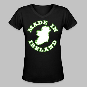 Made In Ireland - Women's V-Neck T-Shirt