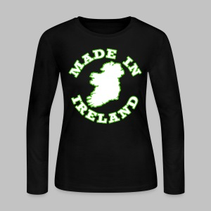 Made In Ireland - Women's Long Sleeve Jersey T-Shirt