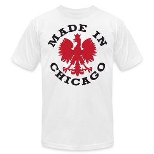 Made In Chicago Polish - Men's T-Shirt by American Apparel