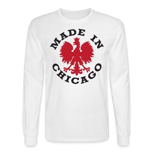 Made In Chicago Polish - Men's Long Sleeve T-Shirt