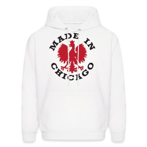 Made In Chicago Polish - Men's Hoodie