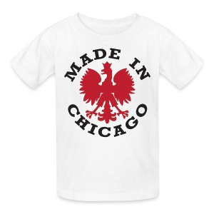 Made In Chicago Polish - Kids' T-Shirt