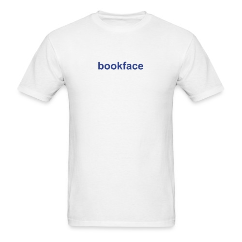 Funny Shirts bookface Shirt Funny - Men's T-Shirt