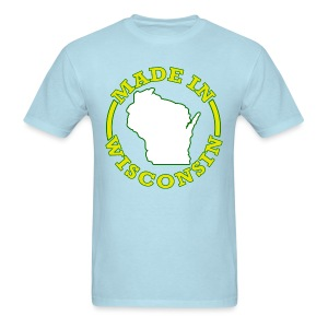 Made In Wisconsin - Men's T-Shirt