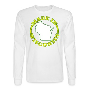 Made In Wisconsin - Men's Long Sleeve T-Shirt