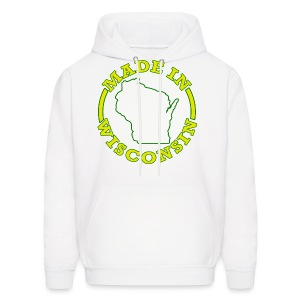 Made In Wisconsin - Men's Hoodie