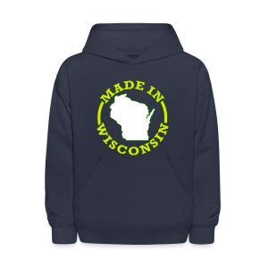 Made In Wisconsin - Kids' Hoodie