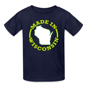 Made In Wisconsin - Kids' T-Shirt