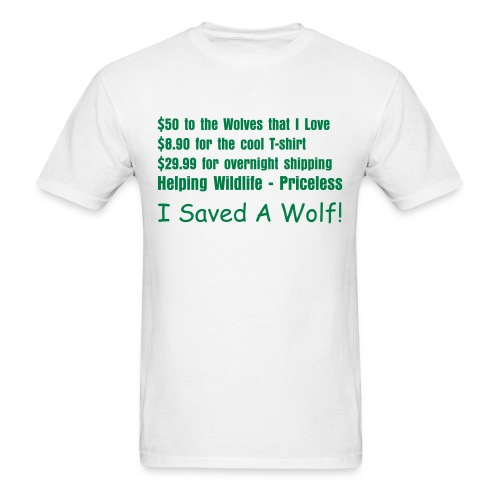 Ultimate Wolf Saver - Men's T-Shirt