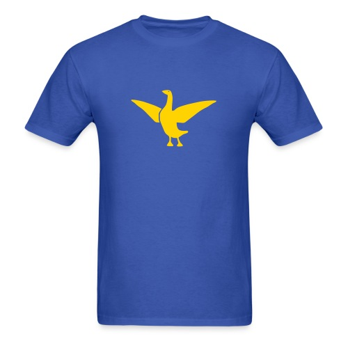 t-shirt goose duck chicken breast rooster wings thanksgiving cooking - Men's T-Shirt