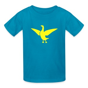 t-shirt goose duck chicken breast rooster wings thanksgiving cooking - Kids' T-Shirt