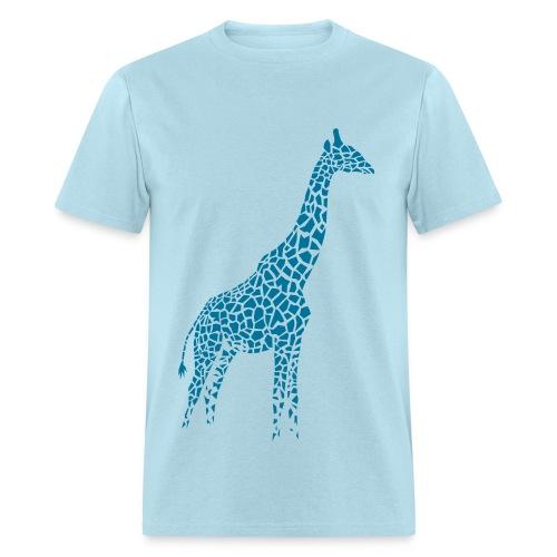 t-shirt giraffe afrika serengeti camelopard safari zoo animal wildlife desert - Men's T-Shirt