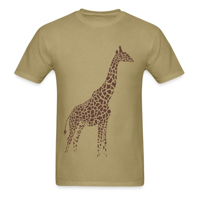 t-shirt giraffe afrika serengeti camelopard safari zoo animal wildlife desert
