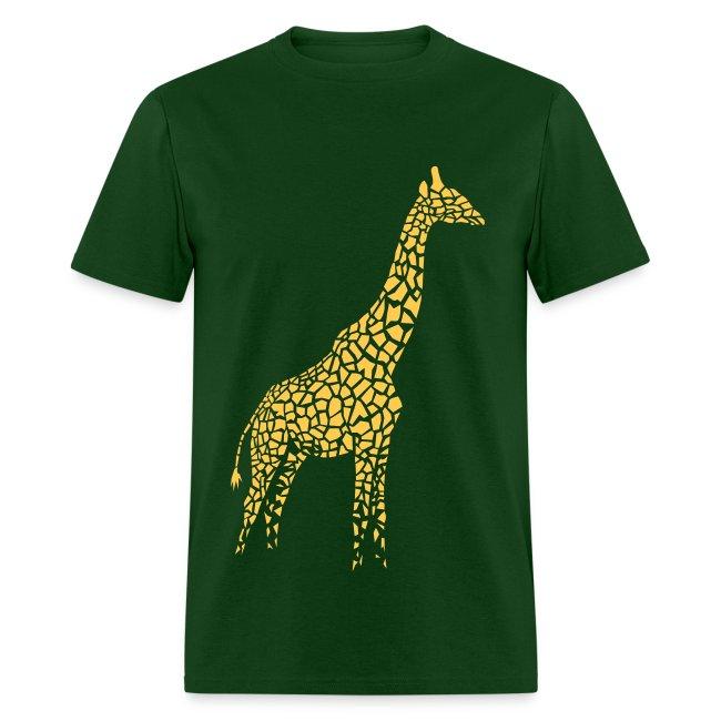 t-shirt giraffe afrika serengeti camelopard safari zoo animal wildlife desert