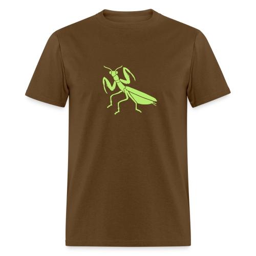 t-shirt praying mantis bug insect - Men's T-Shirt