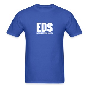 EDS Plain Logo (Blue) - Men's T-Shirt