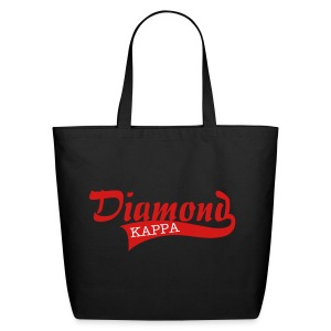 Kappa Diamond Large Tote - Eco-Friendly Cotton Tote