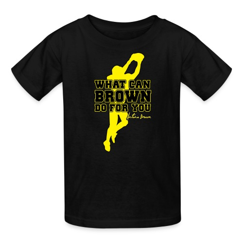 What Can Brown Do for you - Kids' T-Shirt
