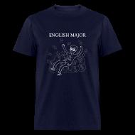 T-Shirts ~ Men's T-Shirt ~ English Major Shirt