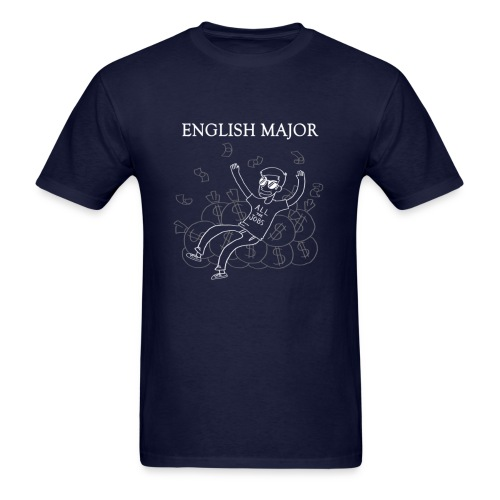 English Major Shirt - Men's T-Shirt
