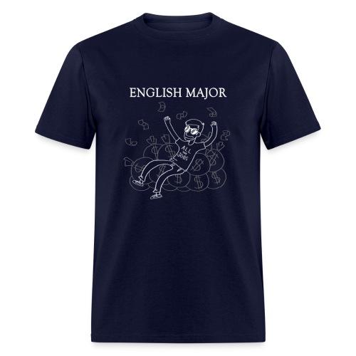 English Major Shirt - Men's T-Shirt