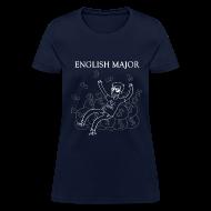 Women's T-Shirts ~ Women's T-Shirt ~ English Major Shirt
