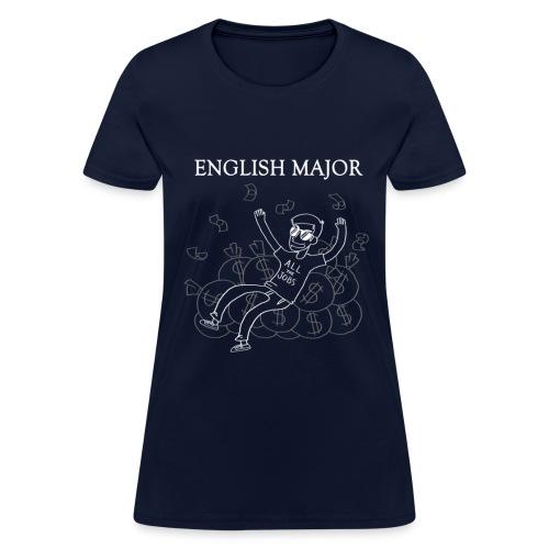 English Major Shirt - Women's T-Shirt