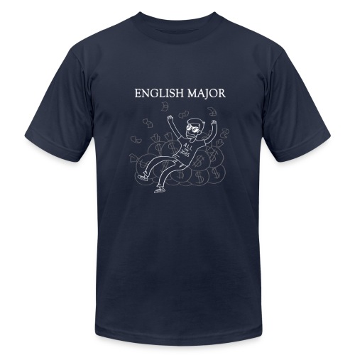 English Major Shirt - Men's Fine Jersey T-Shirt