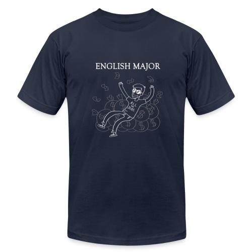 English Major Shirt - Men's Fine Jersey T-Shirt
