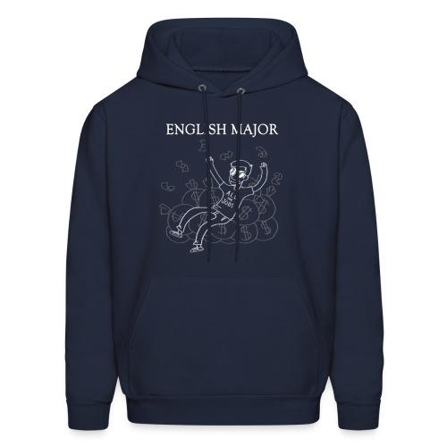 English Major Hoodie - Men's Hoodie