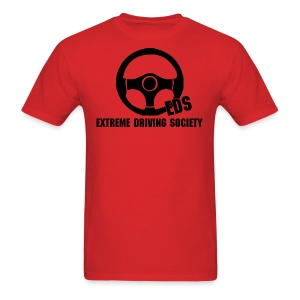 EDS Steering Wheel Logo (Red) - Men's T-Shirt