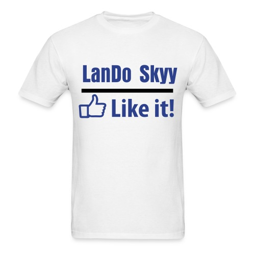 LIKE LanDo on facebook! - Men's T-Shirt